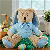 My First Easter Personalized Bunny- Blue - 14180-B
