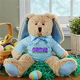 Ears To You Personalized Bunny- Blue - 14181-B