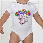 Floating Zoo Personalized Baby Bodysuit - 14182-CBB