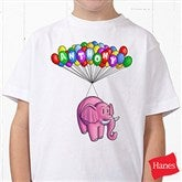 Floating Zoo Personalized Hanes® Youth T-Shirt - 14182-YCT