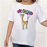 Floating Zoo Personalized Toddler T-Shirt - 14182-TT