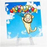 Floating Zoo Personalized Canvas Print -8