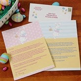 Easter Bunny Personalized Easter Letter - 14197