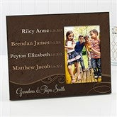 My Grandkids Personalized Photo Frame - 14220
