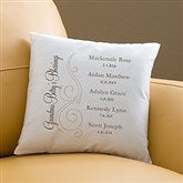 My Grandkids Personalized Throw Pillow - 14221