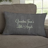 My Grandkids Personalized Lumbar Throw Pillow - 14221-LB