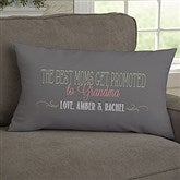 Loving Words To Her Personalized Lumbar Throw Pillow - 14223-LB