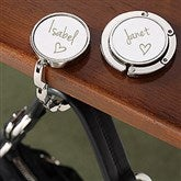 Signed with Love Engraved Purse Hanger - 14227