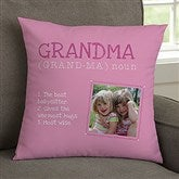 Definition of Grandma Personalized 14