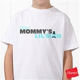 Mommy's Lil' Man Personalized Hanes® Youth T-Shirt - 14240-YT
