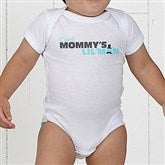 Mommy's Lil' Man Personalized Baby Bodysuit - 14240-CBB