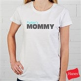 Mommy Personalized Adult Fitted Tee - 14240-FT