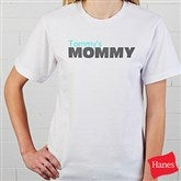 Mommy Personalized Hanes® Adult T-Shirt - 14240-AT