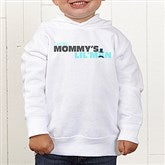 Mommy's Lil' Man Personalized Toddler Hooded Sweatshirt - 14240-CTHS