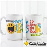 SmileyWorld® Easter Personalized Coffee Mug- 15 oz. - 14247-L