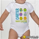 SmileyBaby® First Easter Personalized Infant Baby Bodysuit - 14248-BB