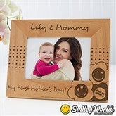 SmileyWorld® Personalized Photo Frame - 4