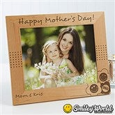 SmileyWorld® Personalized Photo Frame - 8
