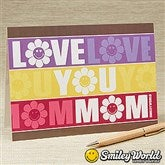 SmileyWorld® Mom Personalized Greeting Card - 14252