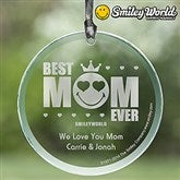 SmileyWorld® Best Mom Ever Personalized Suncatcher - 14253