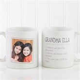 Definition Of Grandma Photo Coffee Mug 11 oz.- White - 14254-S