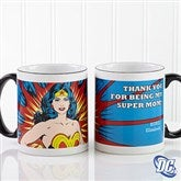 DC Comics® Wonder Woman Personalized Coffee Mug 11oz.- Black - 14255