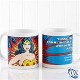 DC Comics® Wonder Woman Personalized Coffee Mug 11 oz.- White - 14255-S