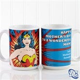DC Comics® Wonder Woman Personalized Coffee Mug 15 oz.-White - 14255-L