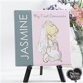 Precious Moments® Personalized First Communion Canvas Print - 14262