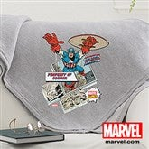 Marvel Retro® Personalized Sweatshirt Blanket - 14263