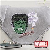Marvel Retro® Portraits Personalized Sweatshirt Blanket - 14264