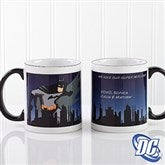 DC Comics® Batman Personalized Black Handle Mug- 11oz. - 14266