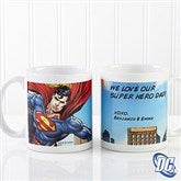 DC Comics® Superman Personalized Coffee Mug- 11 oz. - 14267-S