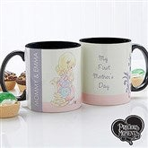 Precious Moments® 1st Mother's Day Personalized Black Handle Coffee Mug- 11 oz. - 14268-B