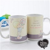 Precious Moments® Flower Bouquet Personalized Coffee Mug- 15 oz. - 14273-L