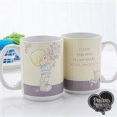 Precious Moments® Flower Bouquet Personalized Coffee Mug- 15 oz. - 14273-L
