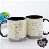 Precious Moments® Flower Bouquet Personalized Coffee Mug- 11 oz. - 14273-B