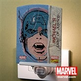 Marvel Retro® Portraits Personalized Night Light - 14275