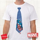 Marvel Retro® Personalized Hanes® Tie Apparel- Adult - 14277-ABT