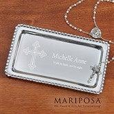 Mariposa® Inspirational Personalized Jewelry Tray - 14291