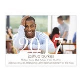 Proud Graduate Personalized Graduation Announcements-Horizontal - 14299-H