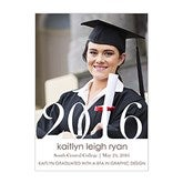 Proud Graduate Personalized Graduation Announcements-Vertical - 14299-V