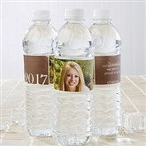 Proud Graduate Personalized Water Bottle Labels - 14302