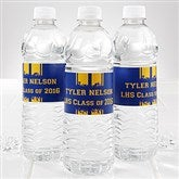 School Spirit! Personalized Water Bottle Label - 14303