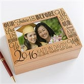 Graduation Memories Personalized Photo Keepsake Box - 14305
