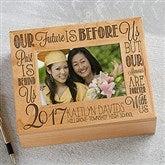 Graduation Memories Personalized Photo Keepsake Box - 14305
