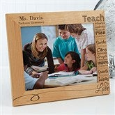 Our Teacher Personalized Frame- 8 x 10 - 14331-L