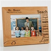 Our Teacher Personalized Frame- 5 x 7 - 14331-M