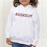 Alphabet Animals Personalized Toddler Hooded Sweatshirt - 14347-CTHS