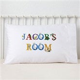 Alphabet Animals Personalized Pillowcase - 14348